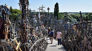Sightseeing Tour Riga - Rundāle Palace - Hill of Crosses - Vilnius