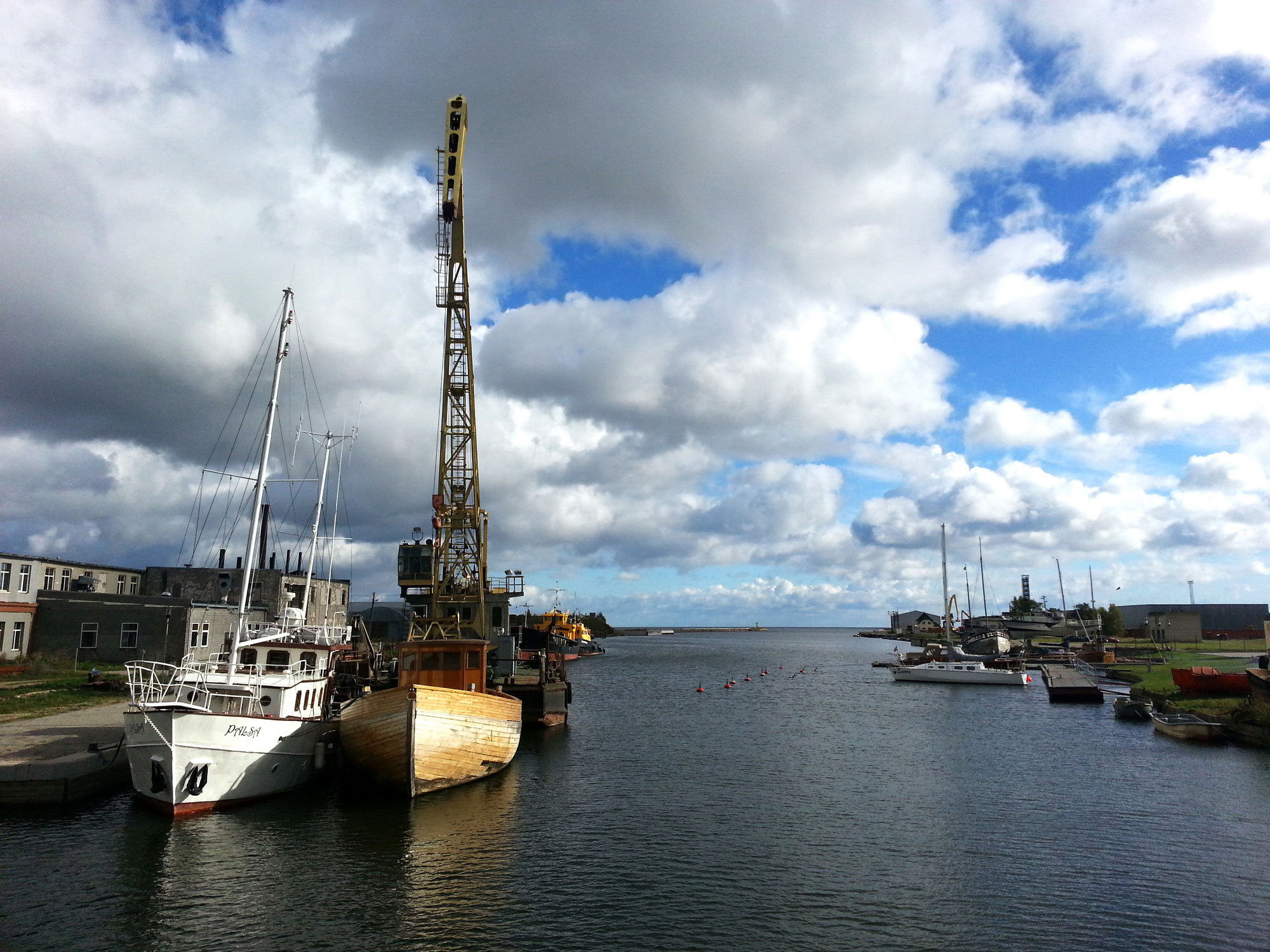 Mersrags harbour