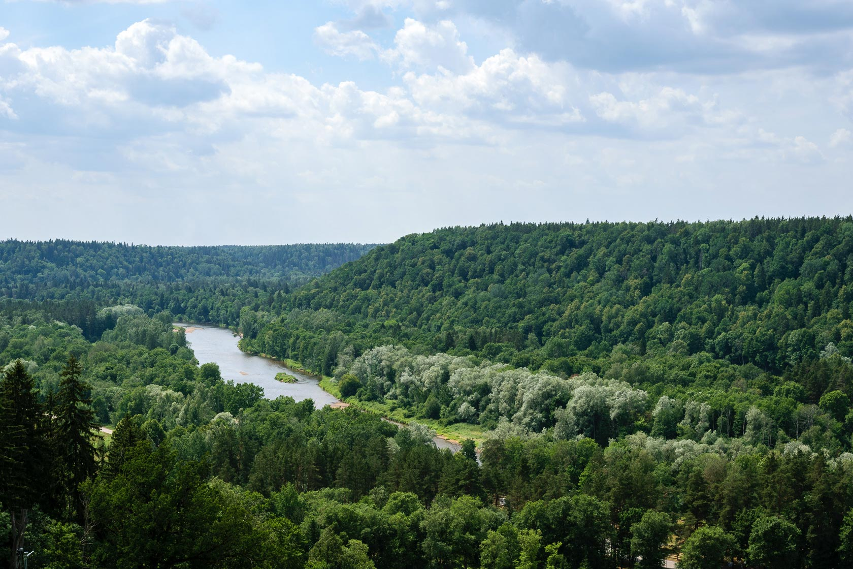 Cycling in Sigulda - Gauja National Park Tour