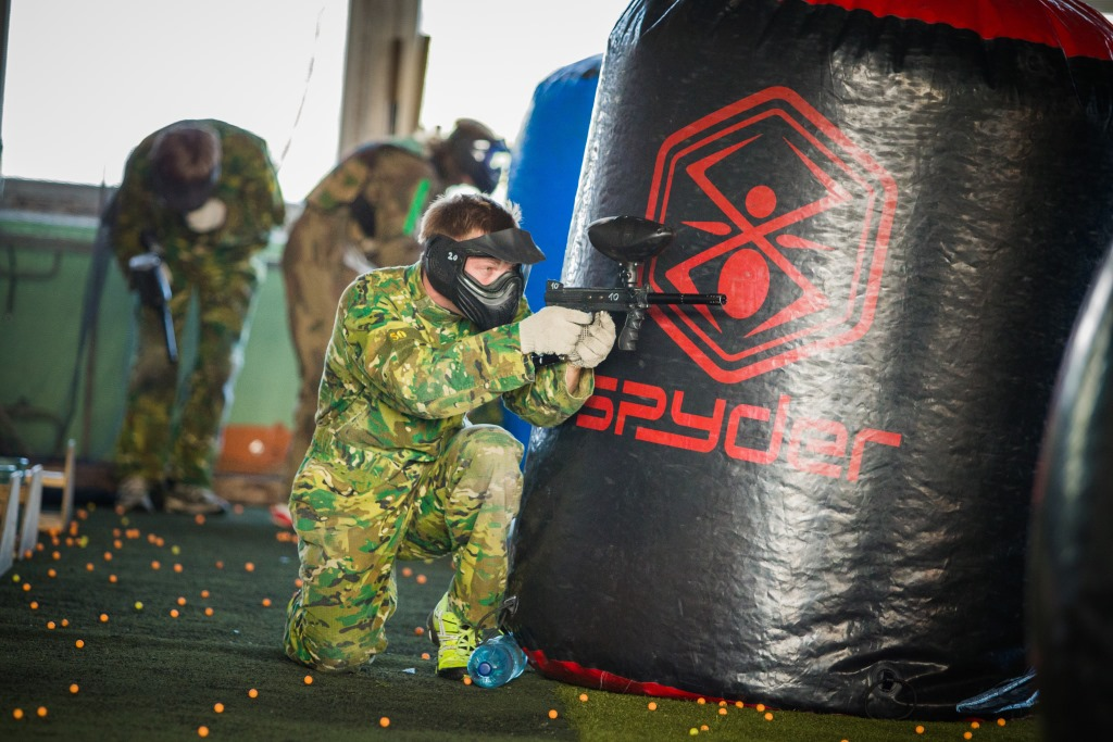 Riga Paintball in a Former Factory